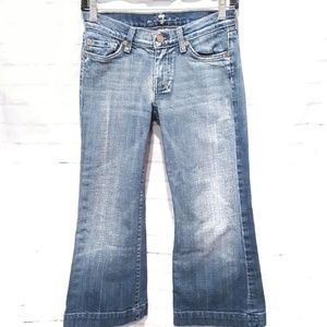7 For All Mankind Shorts - 7 For All Mankind | Dojo Distressed Bermuda Shorts